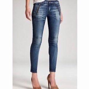 Rag and Bone Moto Cargo Skinny Jeans 29